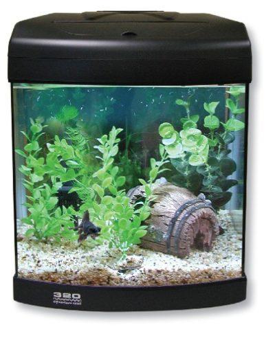 Aqua One Aquastart 320 Aquarium - (Black)