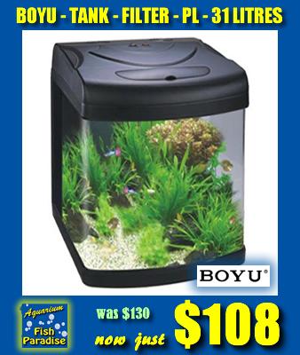 BOYU 31L Aquarium