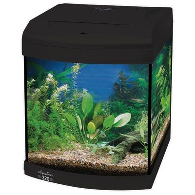 Aquastart 320 Black Aquarium
