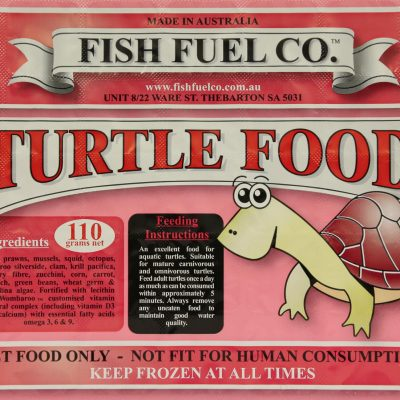 Fish Fuel Co Turtle Food