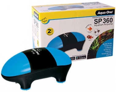SP 360 Twin Outlet Air Pump